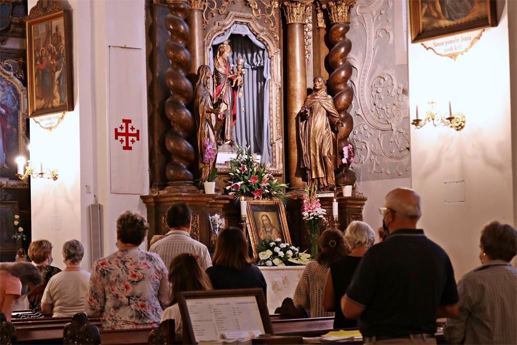 Proslava Majke Božje od brda Karmel - Škapularevo - kod varaždinskih franjevaca