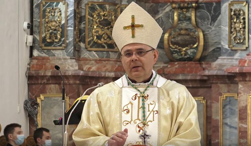 Na Nedjelju Božanskog milosrđa u varaždinskoj katedrali svetu misu predslavio biskup mons. Bože Radoš