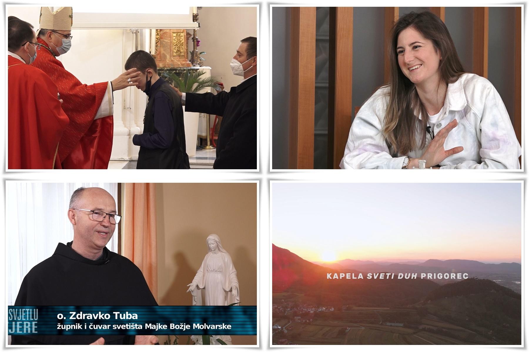 """Najnoviju emisiju """"U svjetlu vjere"""" Ureda za pastoral u medijima pogledajte u programu Vtv televizije u subotu  1. svibnja"""