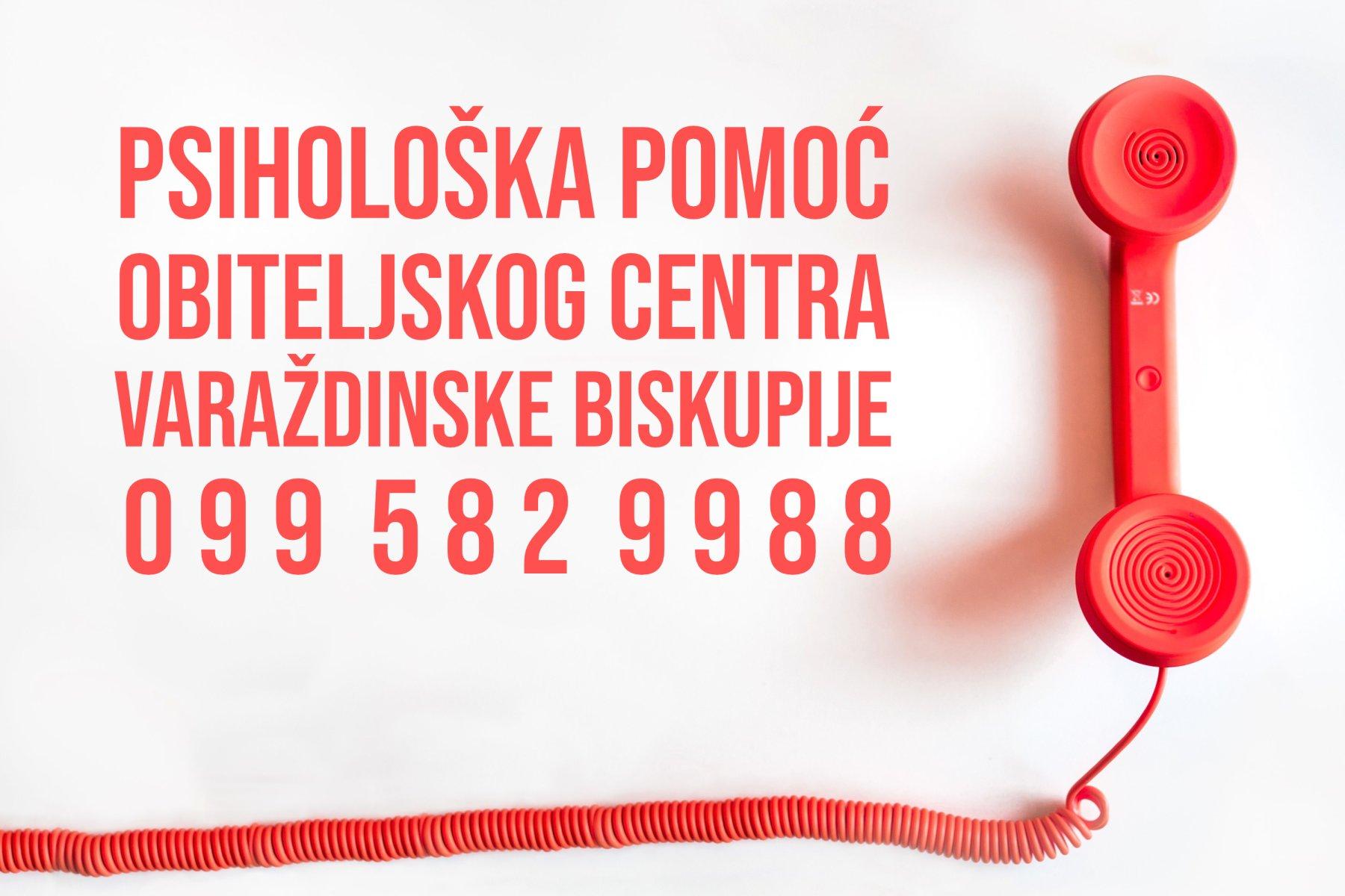Obiteljski centar Varaždinske biskupije odsada nudi uslugu psihološke pomoći i savjetovanja