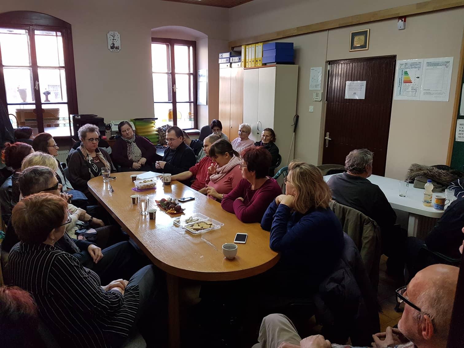 Duhovni susret u Udruzi slijepih Međimurske županije