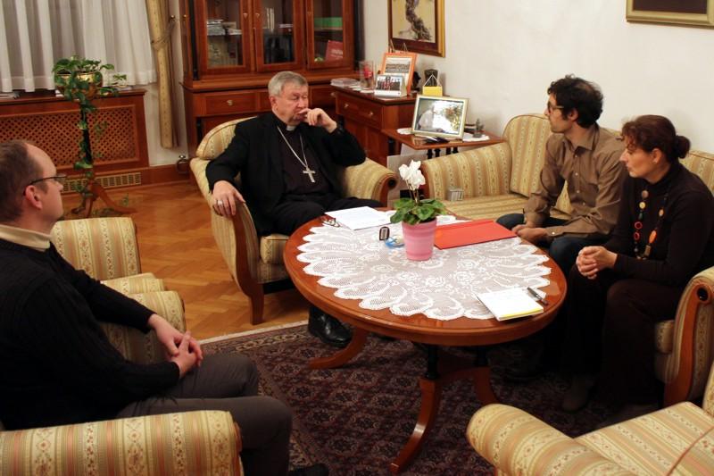 Biskup Mrzljak susreo se s predstavnicima udruge Betlehem