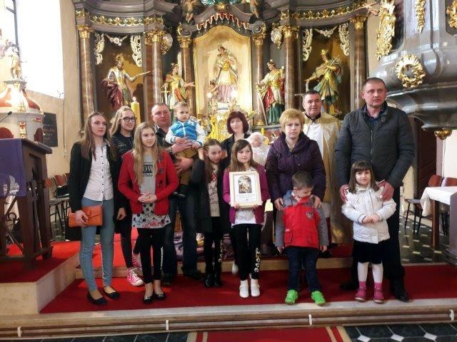 Kršteno 7. dijete u obitelji iz Kelemena