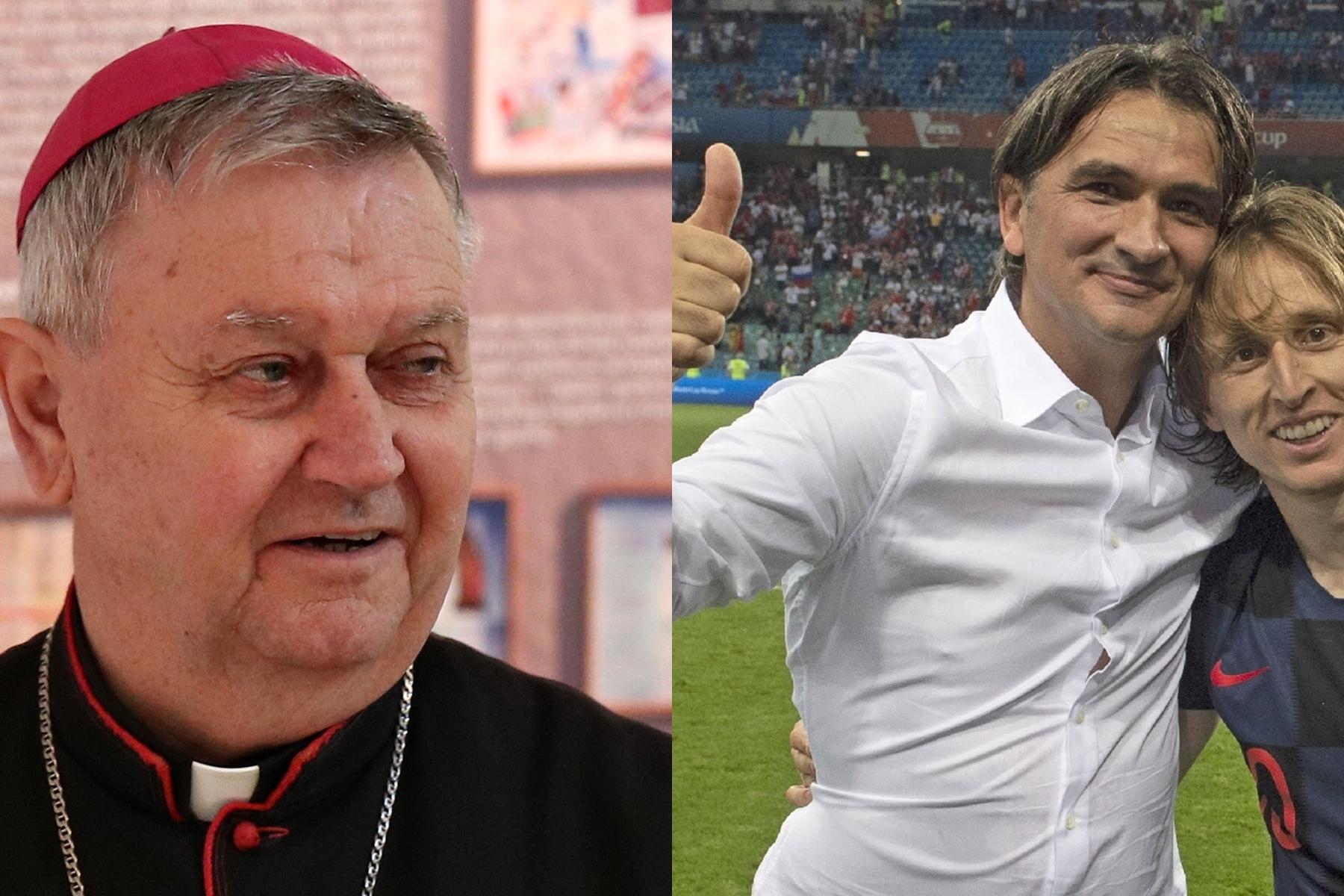 Varaždinski biskup Josip Mrzljak uputio čestitku izborniku Zlatku Daliću nakon plasmana u finale Svjetskog prvenstva u Rusiji