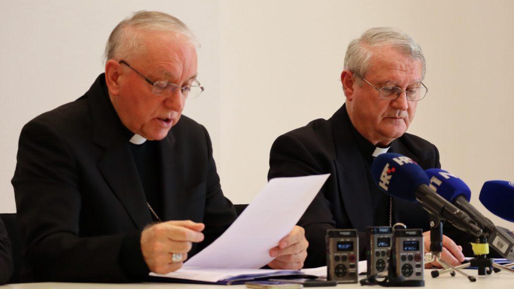 Predstavljeni radovi jesenskoga plenarnoga zasjedanja Hrvatske biskupske konferencije