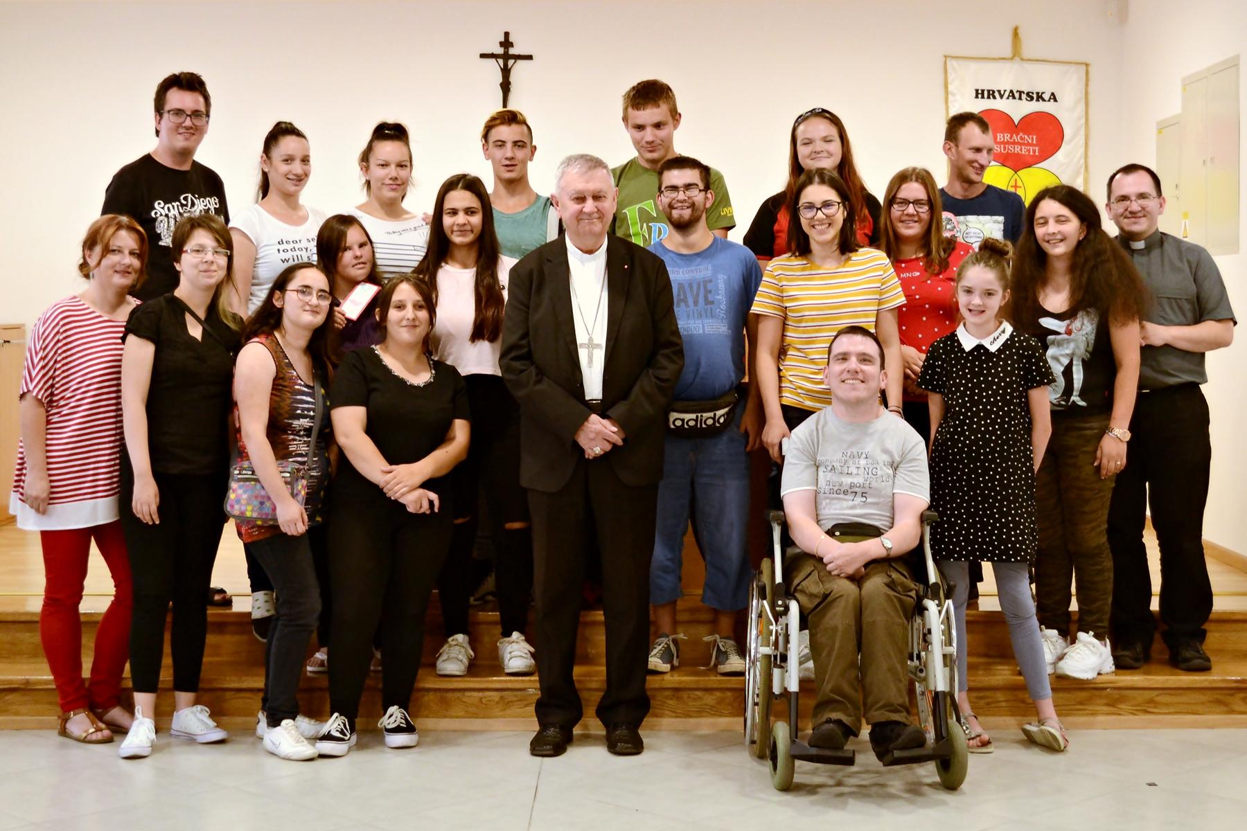 Prvi duhovno-ljetni susret za osobe s invaliditetom održan u Ludbregu