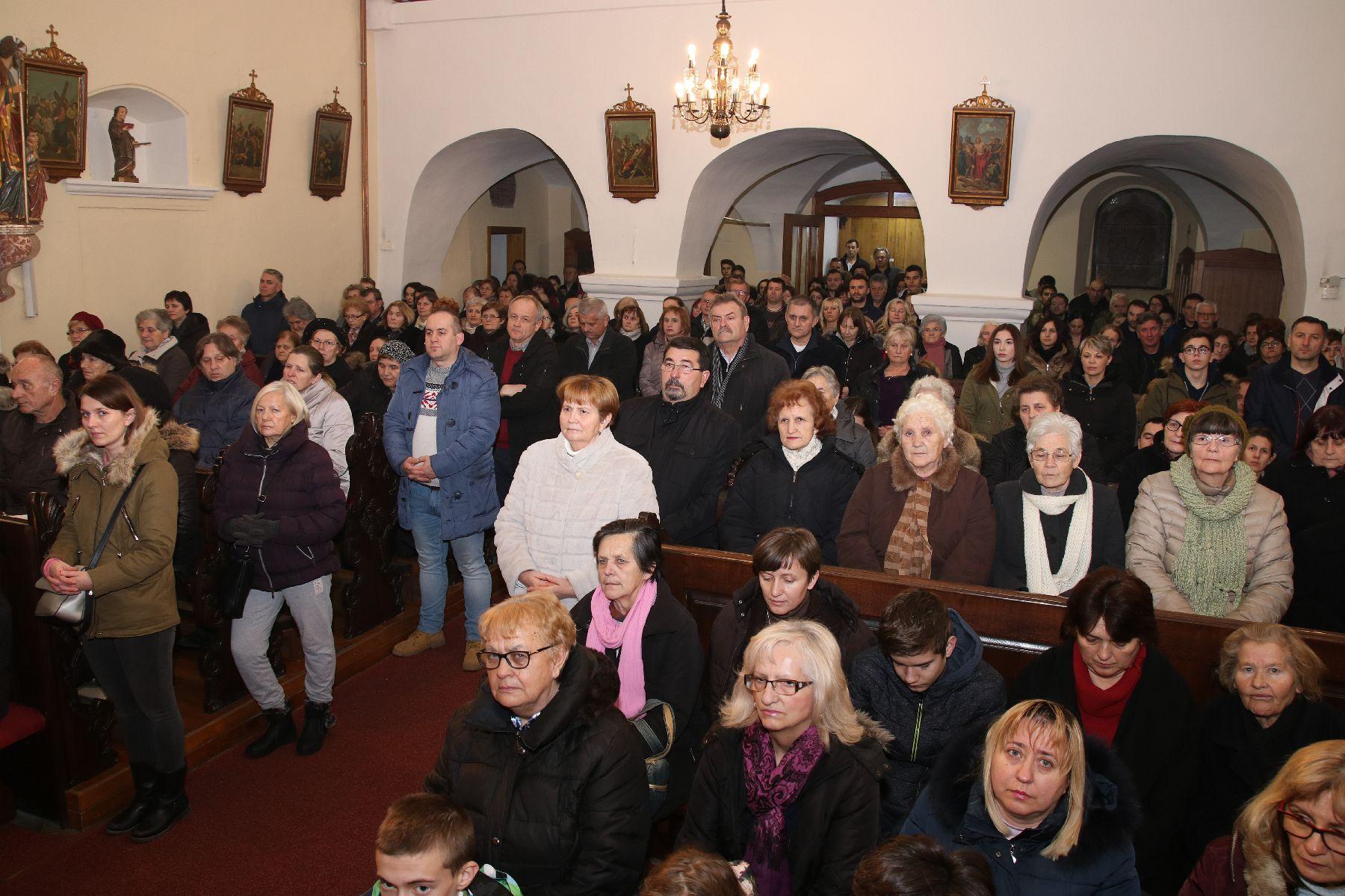 Koprivničanci proslavili 274. zavjetnu misu grada