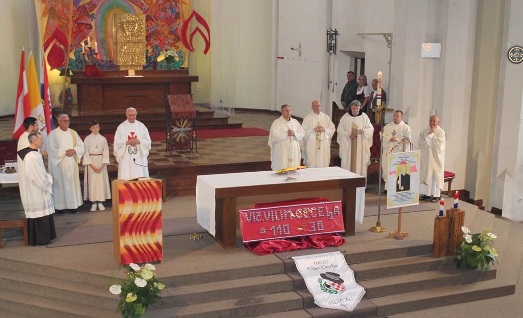 Simpozij o vlč. Vilimu Cecelji u Hrvatskoj katoličkoj župi u Salzburgu