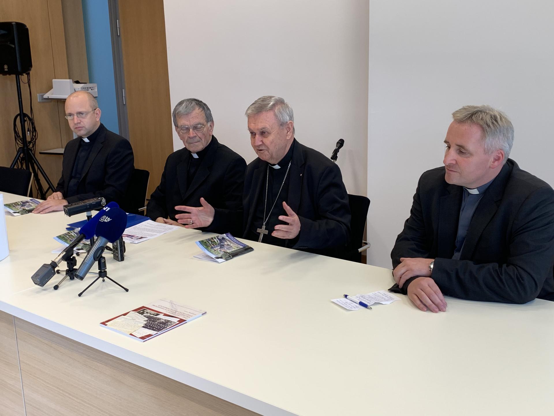 U središtu Hrvatske biskupske konferencije predstavljen 7. susret hrvatskih i slovenskih katoličkih vjernika u Krašić 19. listopada