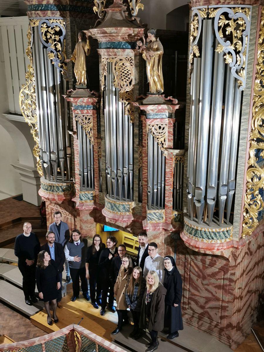 Studenti Instituta za crkvenu glazbu održali orguljaški koncert u varaždinskoj katedrali