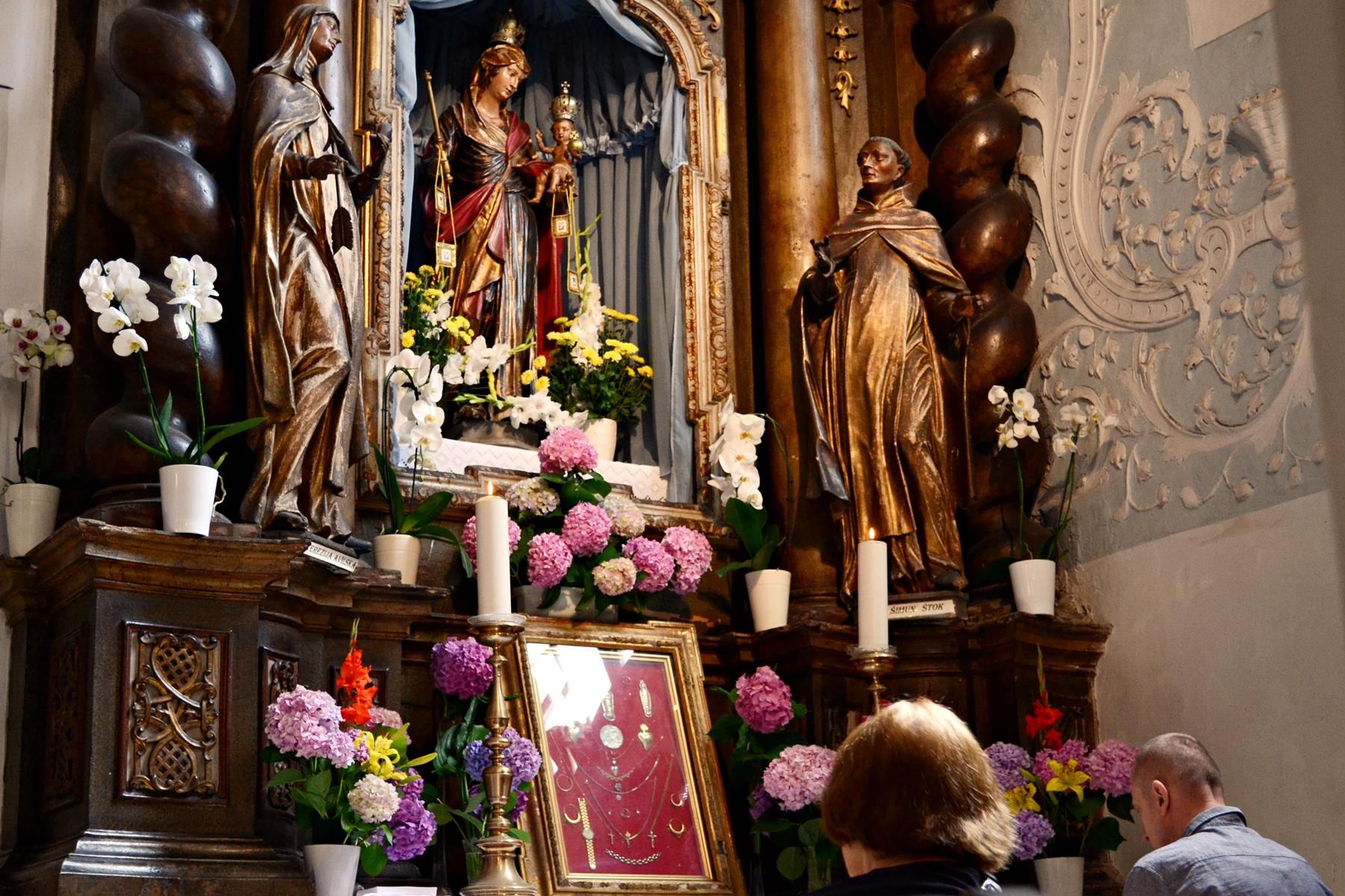 Majka Božja Karmelska - Škapularevo kod Varaždinskih franjevaca