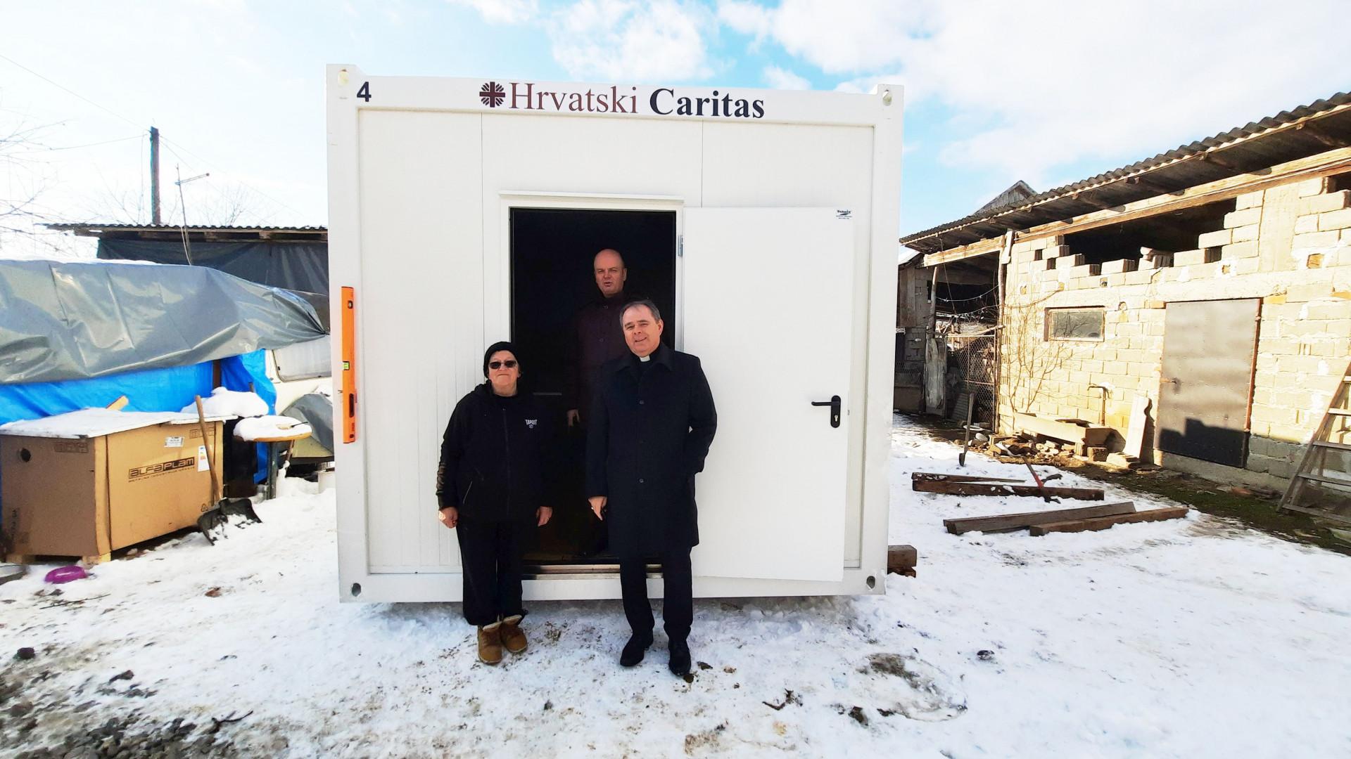 Vjernici Varaždinske biskupije pomažu obiteljima pogođenim potresom
