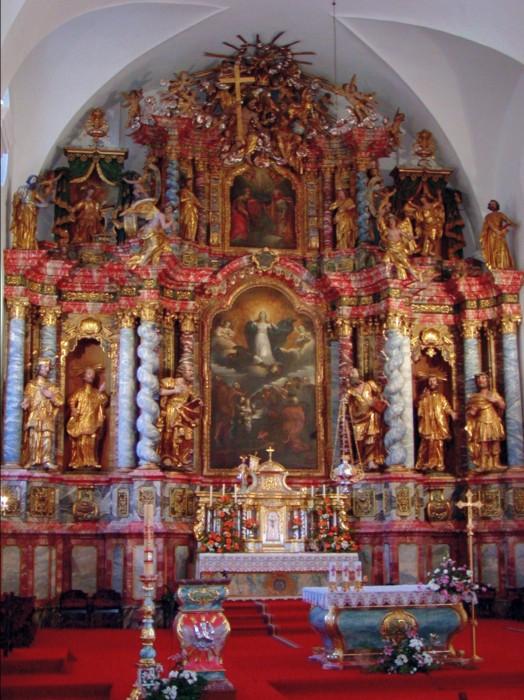 Glavni oltar iz 1737. godine