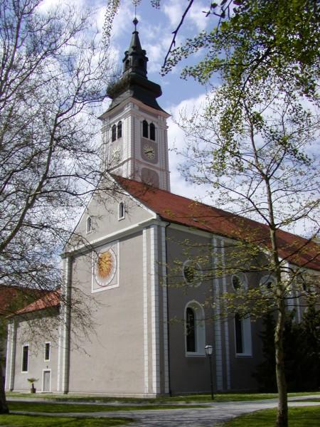 Stražnji dio katedrale, pogled od parka