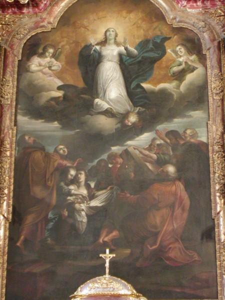 Uznesenje Marijino - slika s glavnog oltara