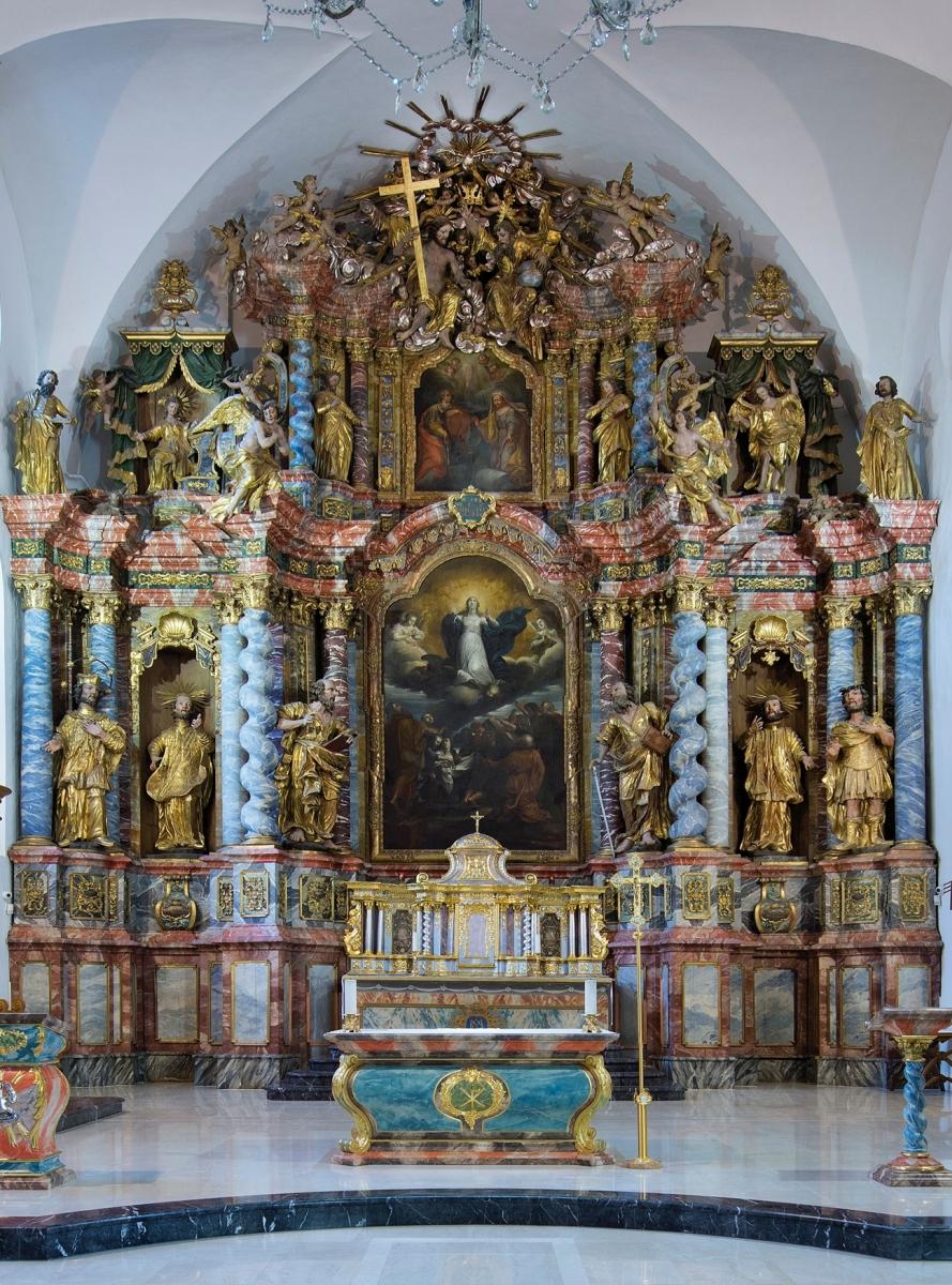 Varazdinska Biskupija Varazdinska Katedrala Uznesenja Blazene Djevice Marije Na Nebo